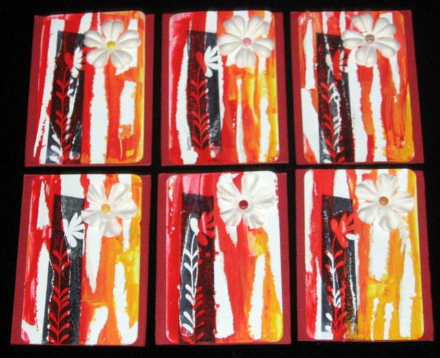 Spring Theme Artist Trading Cards Trish Bee S Art Venture