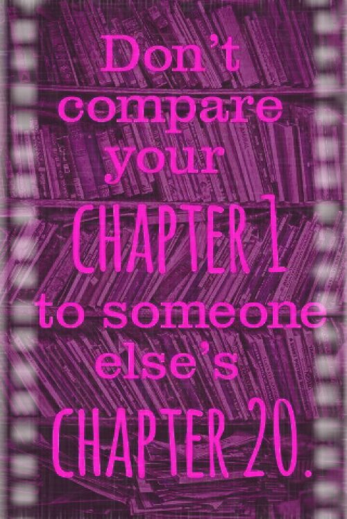 Dont Compare Yourself With Others Journal Page Trish Bees Art